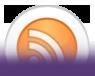 En cliquant sur l'icone, vous accéderez au flux RSS pour suivre les mises à jour
