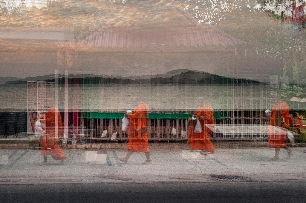 Silence du matin Orange safran